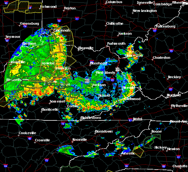 Radar Image for Severe Thunderstorms near Berry, KY at 5/31/2018 4:14 PM EDT