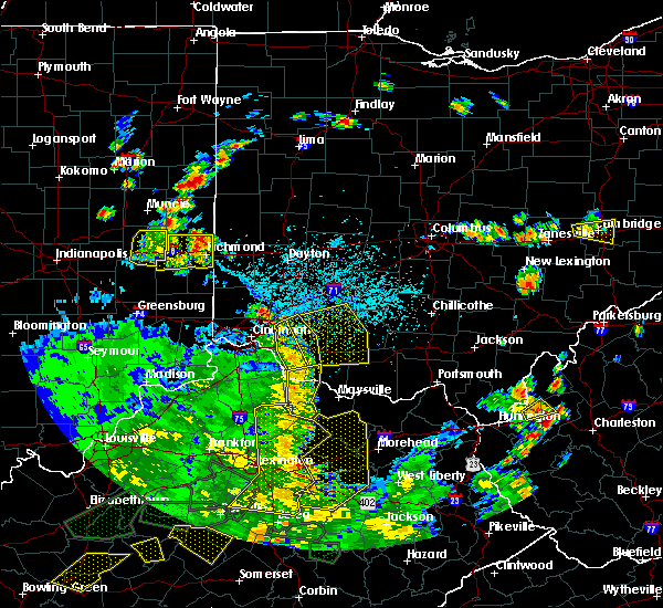 Radar Image for Severe Thunderstorms near Pleasant Plain, OH at 5/31/2018 4:24 PM EDT