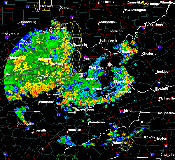 Radar Image for Severe Thunderstorms near Berry, KY at 5/31/2018 4:34 PM EDT