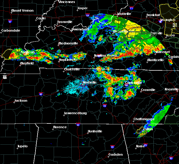 Radar Image for Severe Thunderstorms near Glasgow, KY at 5/31/2018 3:46 PM CDT