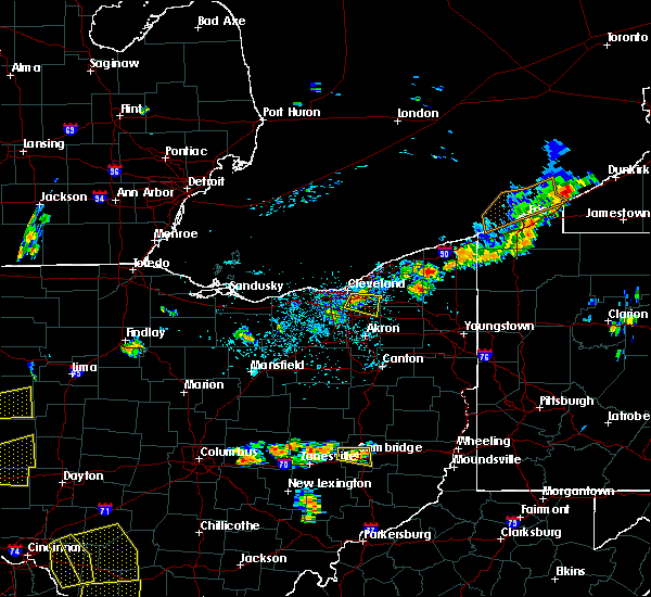 Radar Image for Severe Thunderstorms near South Russell, OH at 5/31/2018 4:47 PM EDT