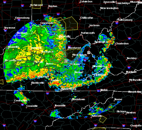 Radar Image for Severe Thunderstorms near Lakeview Heights, KY at 5/31/2018 4:49 PM EDT