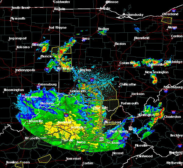 Radar Image for Severe Thunderstorms near Bradford, OH at 5/31/2018 4:56 PM EDT
