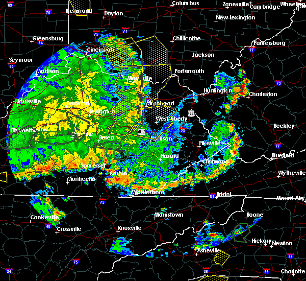 Radar Image for Severe Thunderstorms near West Union, OH at 5/31/2018 4:56 PM EDT