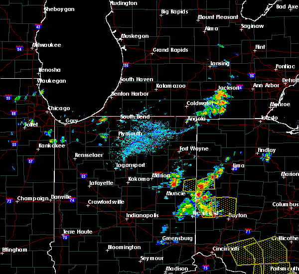 Radar Image for Severe Thunderstorms near Bryant, IN at 5/31/2018 4:58 PM EDT