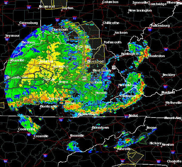 Radar Image for Severe Thunderstorms near Grayson, KY at 5/31/2018 5:02 PM EDT