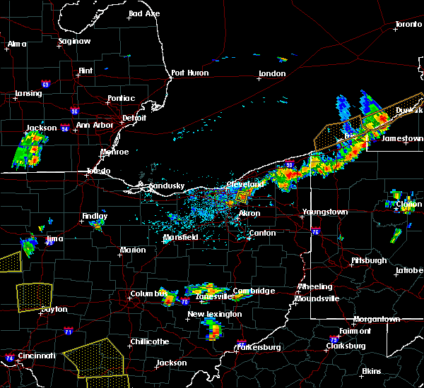 Radar Image for Severe Thunderstorms near Bentleyville, OH at 5/31/2018 5:07 PM EDT