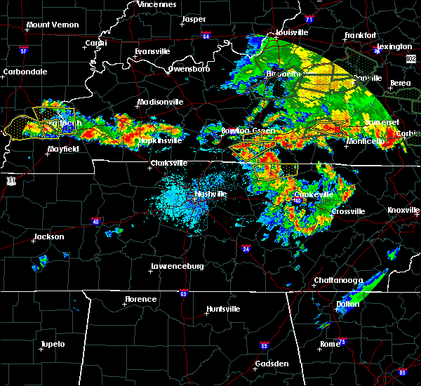 Radar Image for Severe Thunderstorms near Scottsville, KY at 5/31/2018 4:14 PM CDT