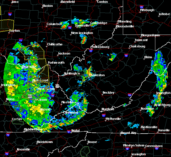 Radar Image for Severe Thunderstorms near Greenup, KY at 5/31/2018 5:17 PM EDT