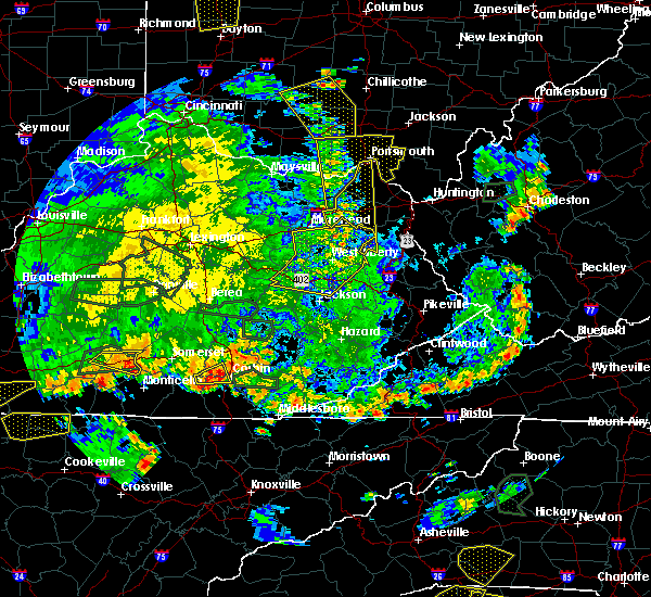 Radar Image for Severe Thunderstorms near Grayson, KY at 5/31/2018 5:21 PM EDT