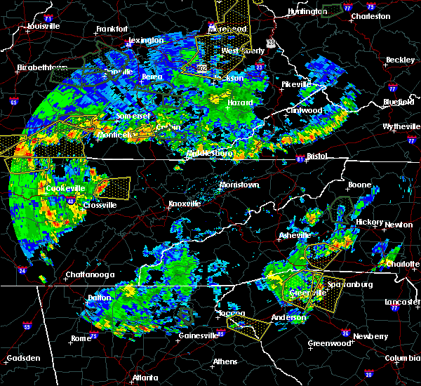 Radar Image for Severe Thunderstorms near Petros, TN at 5/31/2018 5:24 PM EDT