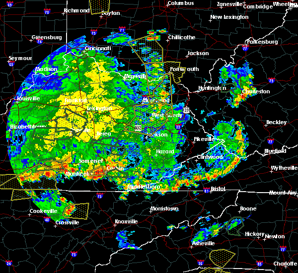 Radar Image for Severe Thunderstorms near Sandy Hook, KY at 5/31/2018 5:28 PM EDT