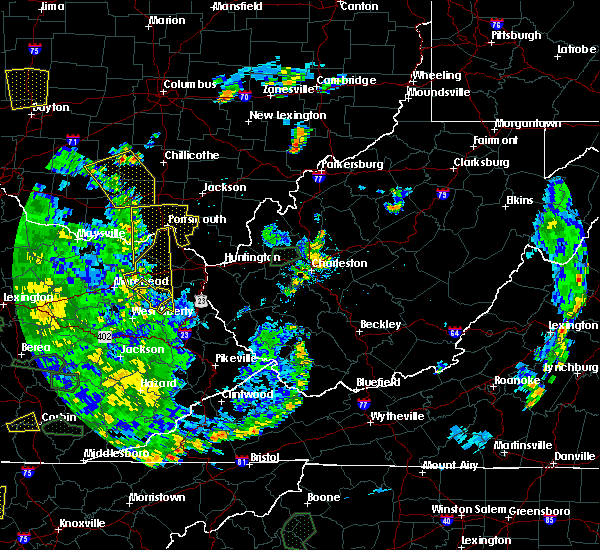Radar Image for Severe Thunderstorms near Otway, OH at 5/31/2018 5:28 PM EDT
