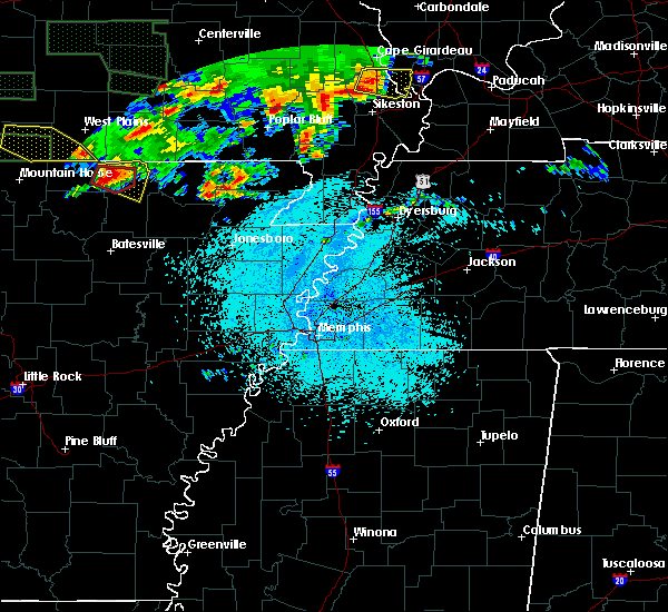 Radar Image for Severe Thunderstorms near Ash Flat, AR at 5/31/2018 9:49 PM CDT