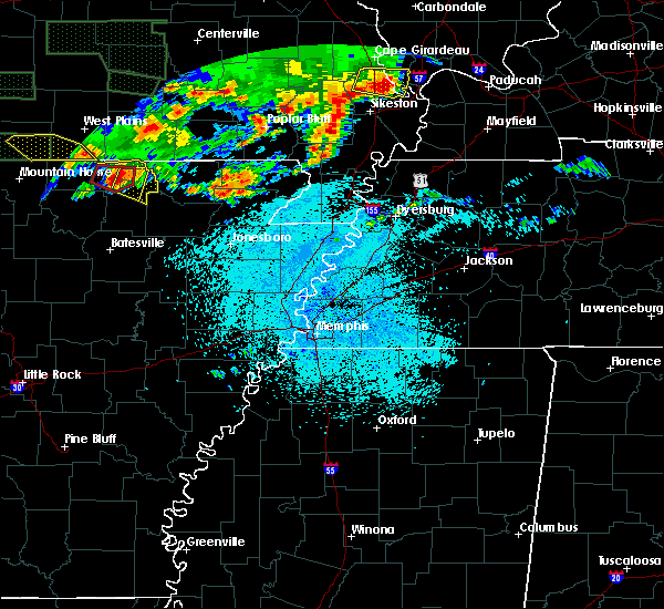 Radar Image for Severe Thunderstorms near Hardy, AR at 5/31/2018 9:59 PM CDT