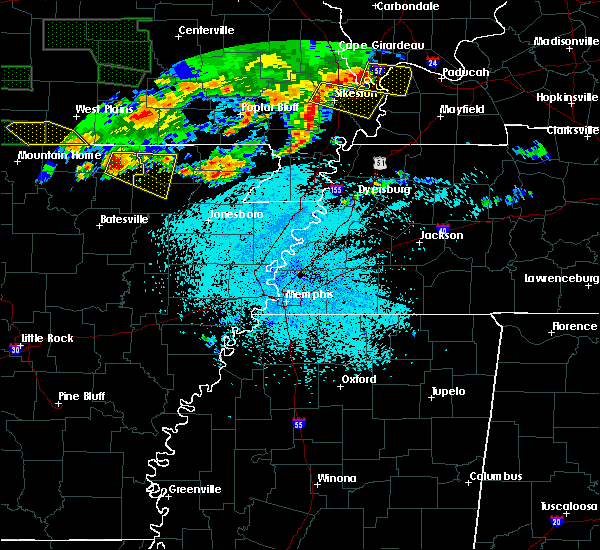 Radar Image for Severe Thunderstorms near Black Rock, AR at 5/31/2018 10:11 PM CDT