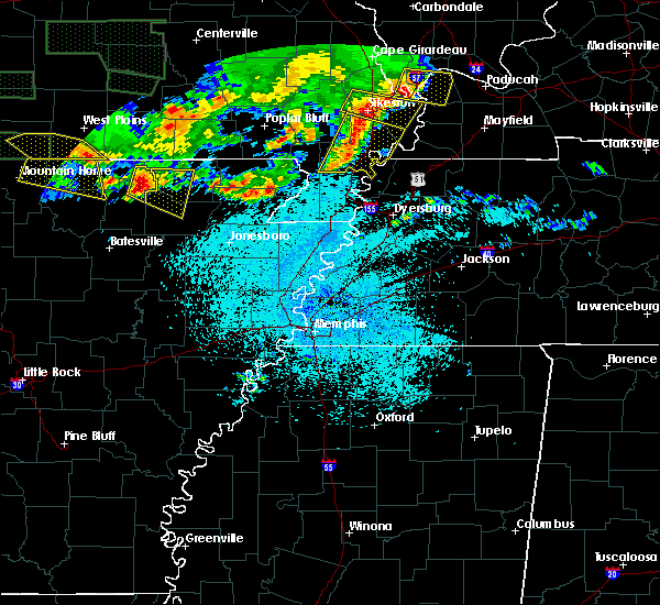 Radar Image for Severe Thunderstorms near Hardy, AR at 5/31/2018 10:23 PM CDT