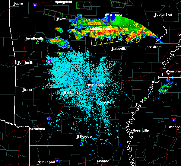 Radar Image for Severe Thunderstorms near Salem, AR at 5/31/2018 11:00 PM CDT