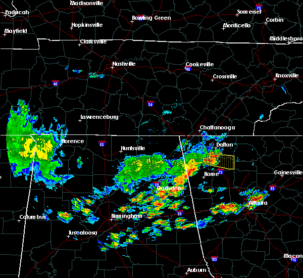 Radar Image for Severe Thunderstorms near Calhoun, GA at 6/1/2018 2:22 PM EDT