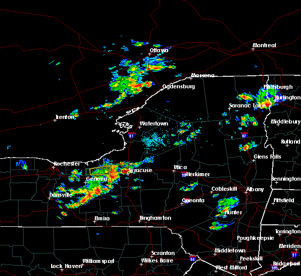 Radar Image for Severe Thunderstorms near Meridian, NY at 6/1/2018 2:56 PM EDT