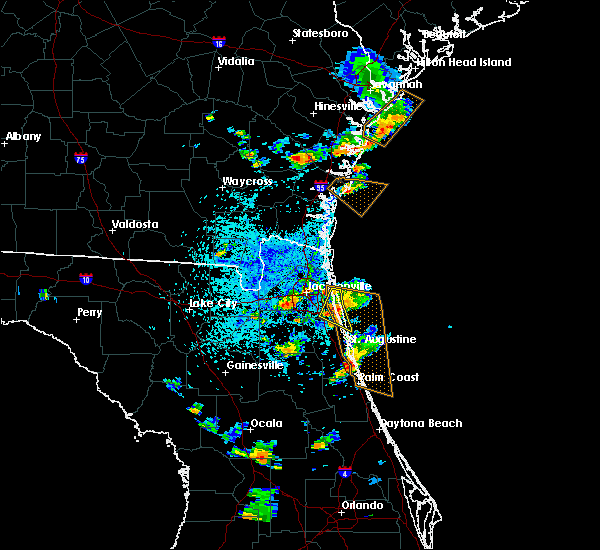 Radar Image for Severe Thunderstorms near Palm Valley, FL at 6/1/2018 4:21 PM EDT