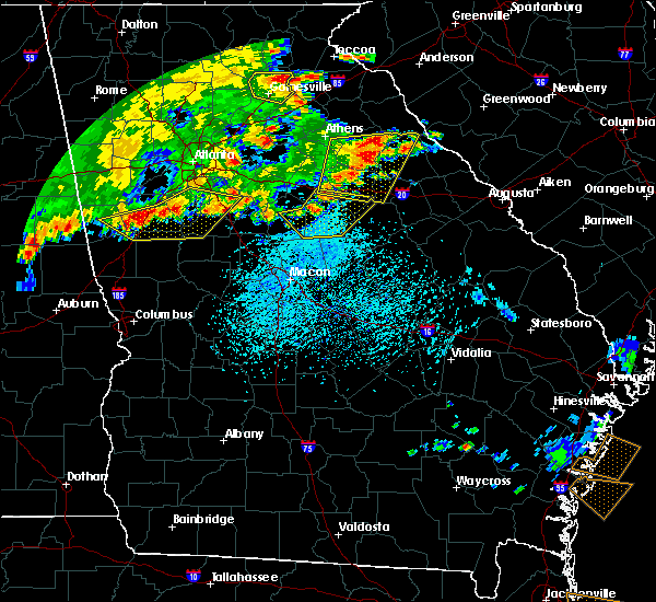 Radar Image for Severe Thunderstorms near Shady Dale, GA at 6/1/2018 4:51 PM EDT