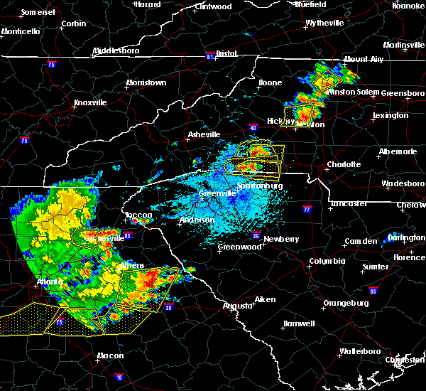 Radar Image for Severe Thunderstorms near Henrietta, NC at 6/1/2018 4:58 PM EDT