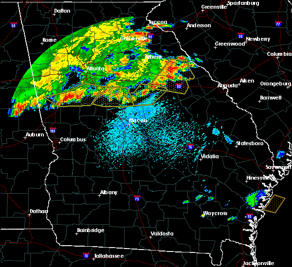 Radar Image for Severe Thunderstorms near Siloam, GA at 6/1/2018 5:05 PM EDT