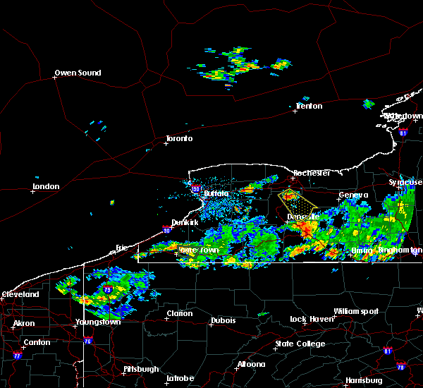 Radar Image for Severe Thunderstorms near Lima, NY at 6/1/2018 5:05 PM EDT