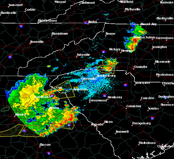 Radar Image for Severe Thunderstorms near Donalds, SC at 6/1/2018 5:22 PM EDT