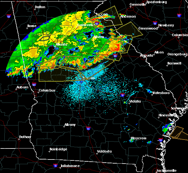 Radar Image for Severe Thunderstorms near Macon, GA at 6/1/2018 5:25 PM EDT