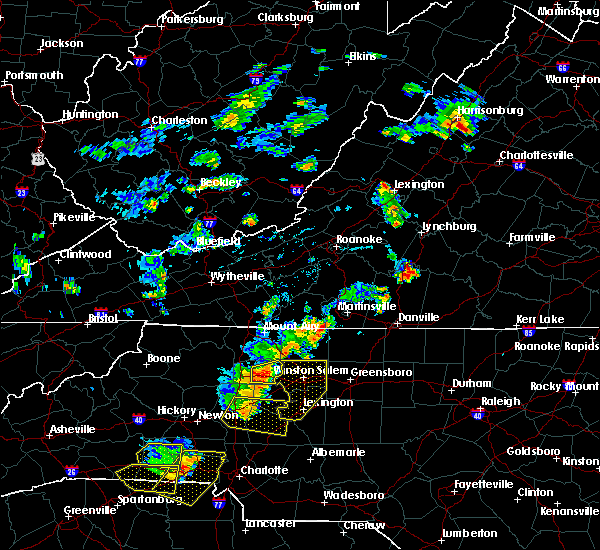 Radar Image for Severe Thunderstorms near High Point, NC at 6/1/2018 5:40 PM EDT