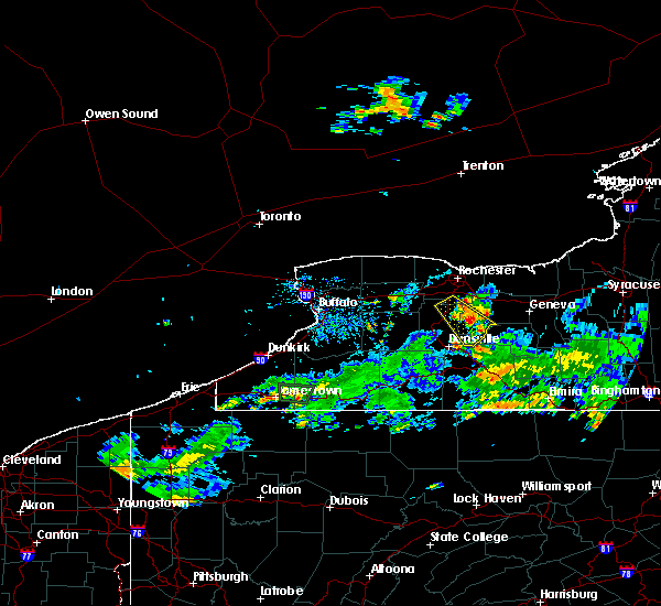 Radar Image for Severe Thunderstorms near Lima, NY at 6/1/2018 5:42 PM EDT