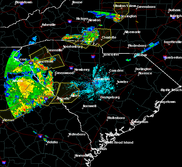 Radar Image for Severe Thunderstorms near Belvedere, SC at 6/1/2018 6:13 PM EDT