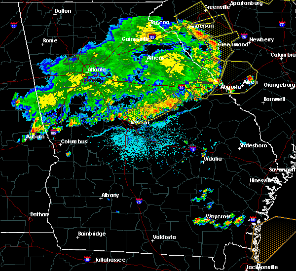 Radar Image for Severe Thunderstorms near Macon, GA at 6/1/2018 6:16 PM EDT
