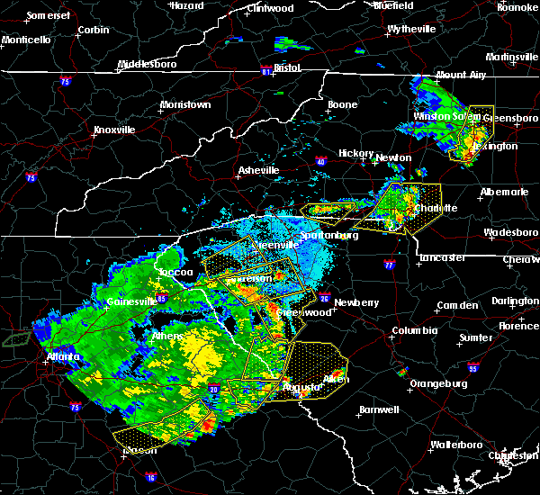 Radar Image for Severe Thunderstorms near Harrisburg, NC at 6/1/2018 6:26 PM EDT