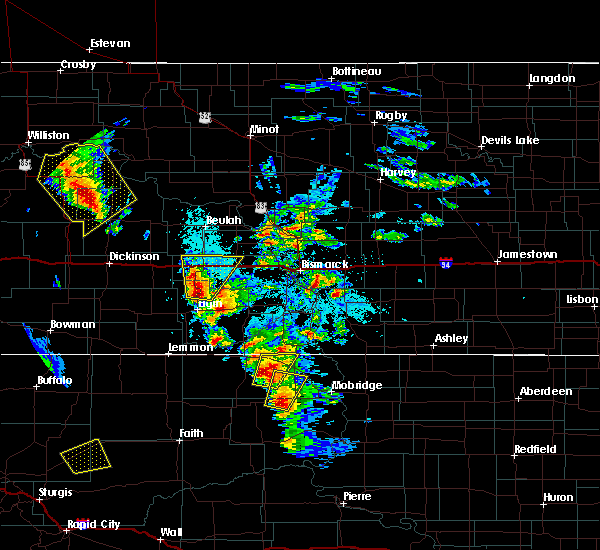 Radar Image for Severe Thunderstorms near Timber Lake, SD at 6/1/2018 4:26 PM MDT