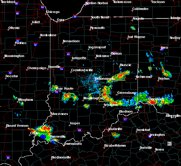 Radar Image for Severe Thunderstorms near New Castle, IN at 6/1/2018 6:32 PM EDT