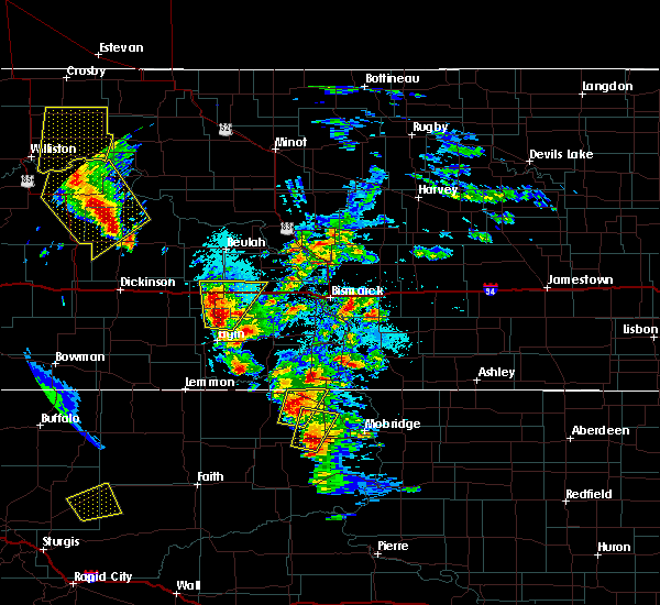 Radar Image for Severe Thunderstorms near Timber Lake, SD at 6/1/2018 4:32 PM MDT
