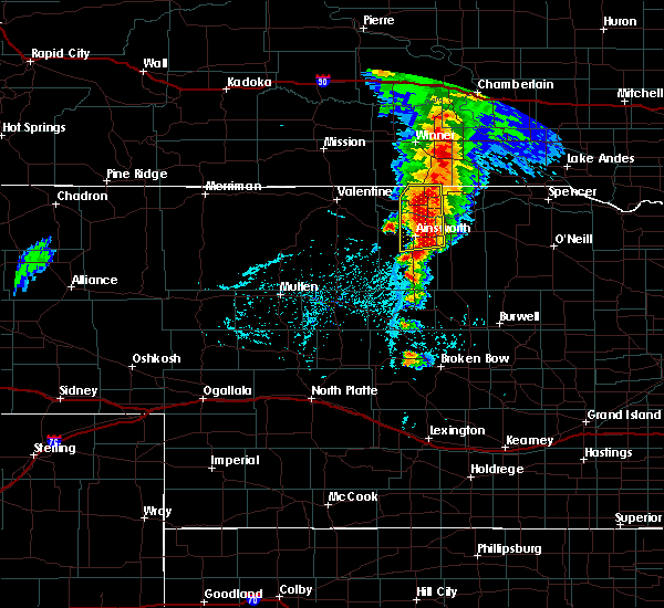 Radar Image for Severe Thunderstorms near Ainsworth, NE at 6/1/2018 6:01 PM CDT
