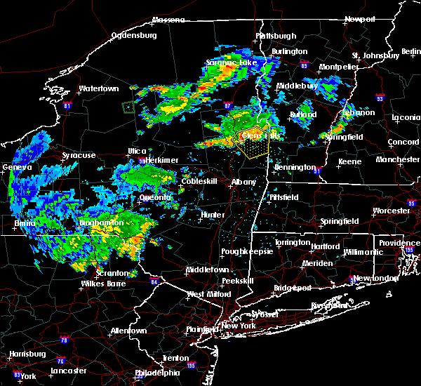 Radar Image for Severe Thunderstorms near Salem, NY at 6/1/2018 7:20 PM EDT
