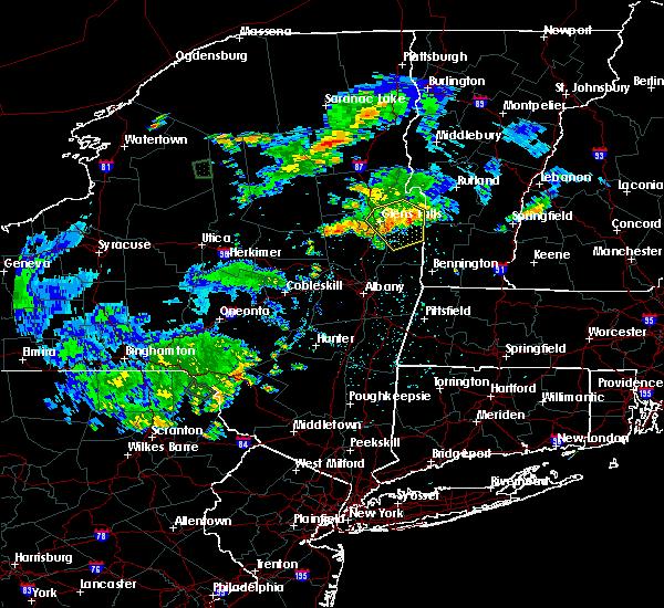Radar Image for Severe Thunderstorms near Salem, NY at 6/1/2018 7:42 PM EDT