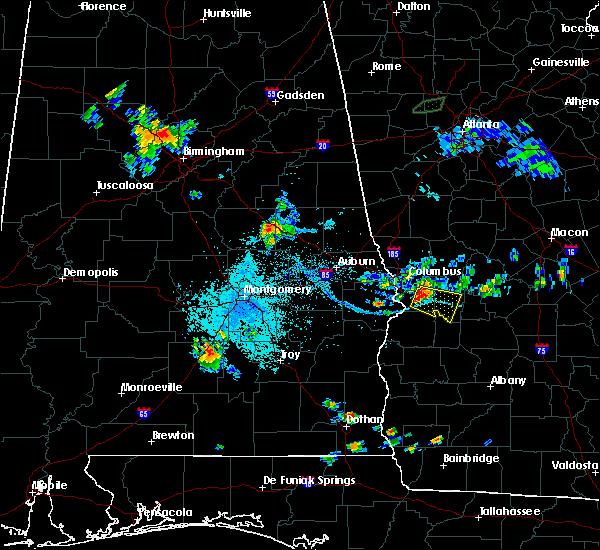 Radar Image for Severe Thunderstorms near Columbus, GA at 6/1/2018 7:44 PM EDT