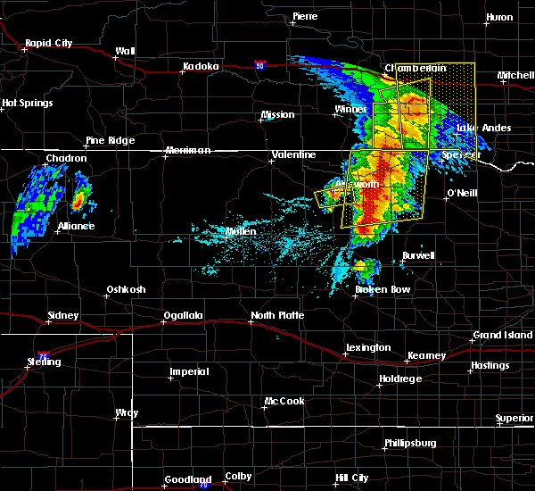 Radar Image for Severe Thunderstorms near Atkinson, NE at 6/1/2018 6:50 PM CDT