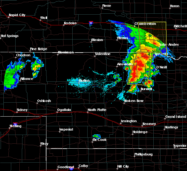 Radar Image for Severe Thunderstorms near Atkinson, NE at 6/1/2018 7:23 PM CDT