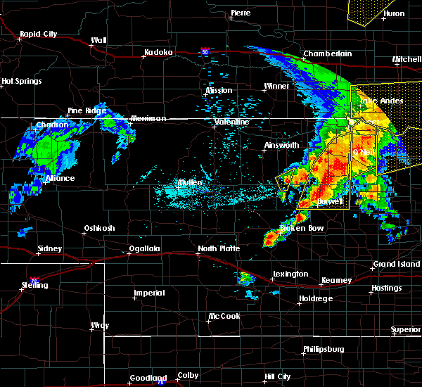 Radar Image for Severe Thunderstorms near Atkinson, NE at 6/1/2018 8:15 PM CDT