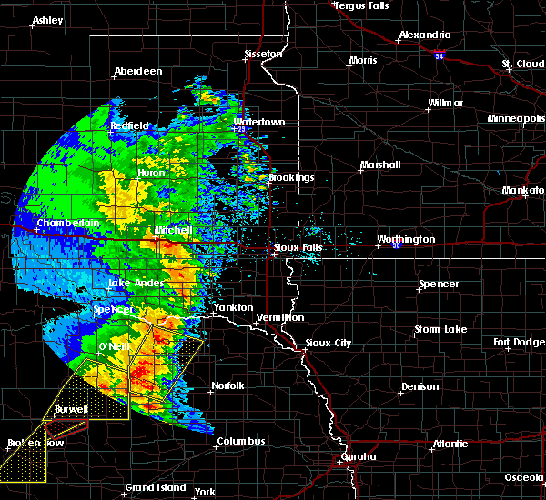 Radar Image for Severe Thunderstorms near Center, NE at 6/1/2018 9:02 PM CDT