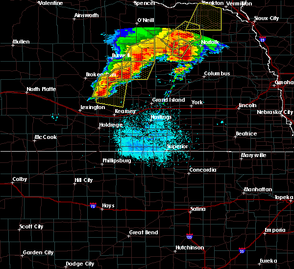 Radar Image for Severe Thunderstorms near Litchfield, NE at 6/1/2018 9:45 PM CDT