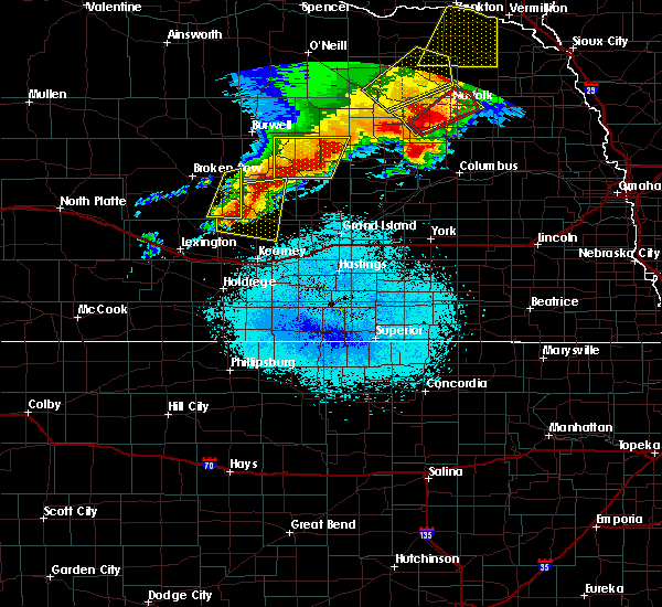 Radar Image for Severe Thunderstorms near Hazard, NE at 6/1/2018 9:58 PM CDT