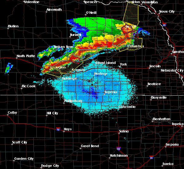 Radar Image for Severe Thunderstorms near Rockville, NE at 6/1/2018 10:28 PM CDT